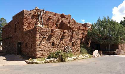 Hopi house at Grand Canyon National Park