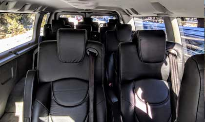 tour van interior